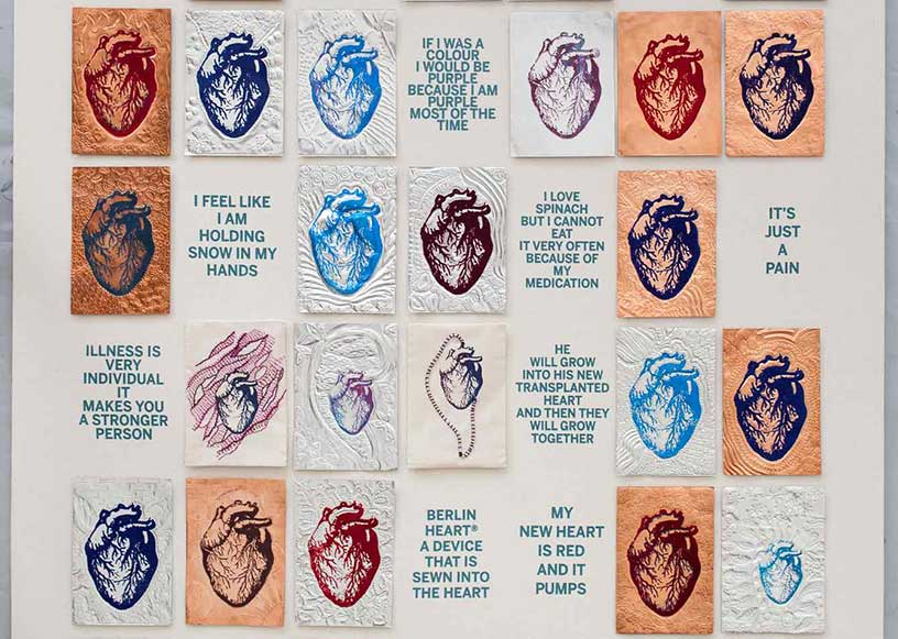 The Heart of the Matter is an exhibition that brings together art and medicine to reflect on the human heart.